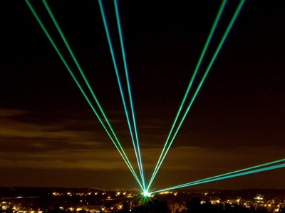 Professional Laser Shows