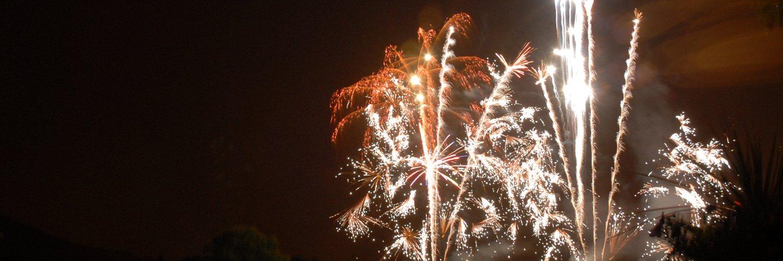 Overseal Pyrotechnics Wedding Fireworks Displays