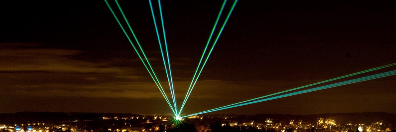 Overseal Pyrotechnics Laser Displays